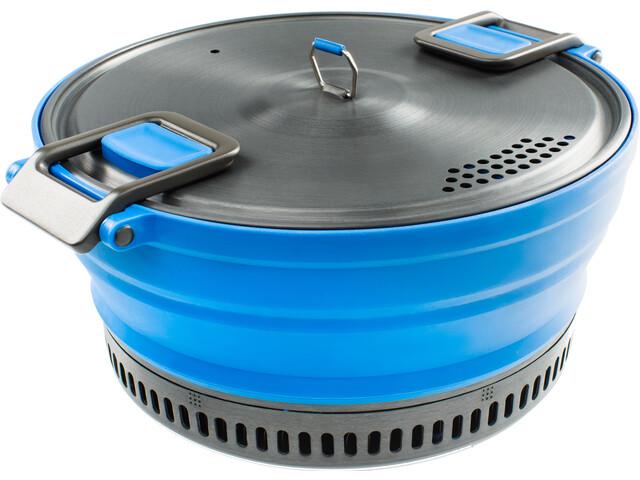 GSI Escape HS Marmite avec couvercle 2000ml, blue